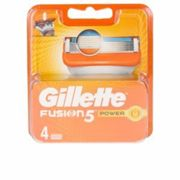 Gillette Fusion5 Power Replacement Blades 4 pc