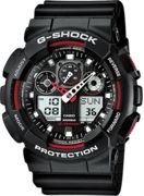 G-shock Ga-100 One Size Black