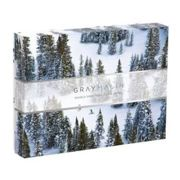 Galison - Snow Scenes Gray Malin Double Sided 500 Piece Jigsaw Puzzle