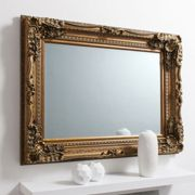 Gallery Direct Carved Louis Mirror - Gold