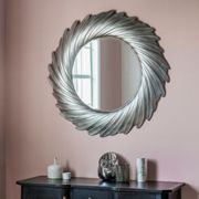 Gallery Direct Lowry Silver Mirror