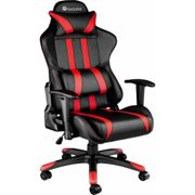 Gaming chair premium - office chair, computer chair, ergonomic chair - black/red