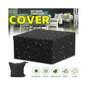 Garden Patio Furniture Cover Rattan Table Cube Seat Covers Outdoor Waterproof