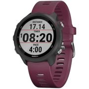 Garmin Forerunner 245 GPS Running Watch 2019 - Black - Berry, Black - Berry