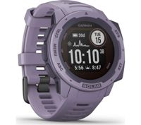 GARMIN Instinct Solar Orchid - Cardio GPS watch - Purple - taille Unique
