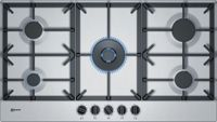 Neff T29DS69N0 Gas Hob, Stainless Steel