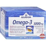 GESUNDFORM Omega-3 1.000 mg capsules 180 units