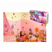 Giant stickers for children's bedroom magic enchanted lawn J382.132