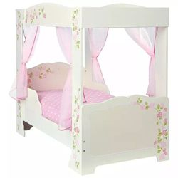 Pricehunter.co.uk - Price comparison & product search. Product image for  4 poster bed with curtains