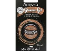 Glamor Gel Chestnut Glittering 25ml, Stamperia, Patina, Special Colors, Hobby Colors, Decoupage