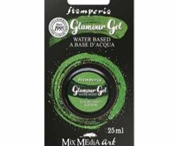 Glamor Gel Green Glittering 25ml, Stamperia, Patina, Special Colors, Hobby Colors, Decoupage
