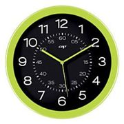 Gloss by CEP Analog Wall Clock 820G 30 x 4.5cm Anise