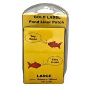 """Gold Label Pond Liner Patch Repair Kit Large 11""""x15"""""""