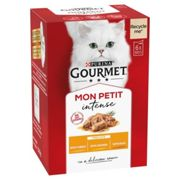 Gourmet Mon Petit Poultry 6x50g (Pack of 8)