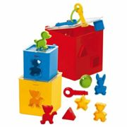 Gowi lock box with throw-in shapes