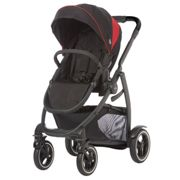 Graco Evo XT Pushchair Black Red