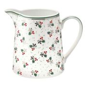 Green Gate - White Porcelain Joselyn Jug - porcelain | white - White/White