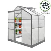 Greenhouse 6ft x 4ft With base