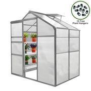 Greenhouse 6ft x 4ft Without base
