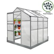 Greenhouse 6ft x 6ft with base
