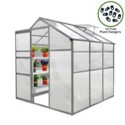 Greenhouse 6ft x 6ft Without base