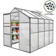 Greenhouse 6ft x 8ft Without base