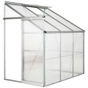 Greenhouse lean-to - transparent