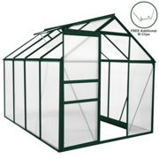 Greenhouse Polycarbonate 6ft x 8ft (Green)