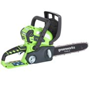 Greenworks G40CS30 40v Cordless Chainsaw 300mm 1 x 2ah Li-ion Charger