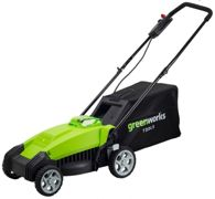 Greenworks G40LM35K2 40v 35cm Mower with 2Ah battery and charger