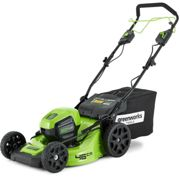Greenworks GD60LM46SP 60v Cordless Self Propelled Brushless Rotary Lawnmower 460mm No Batteries No Charger