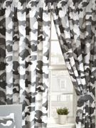 Grey Army Camouflage Lined Curtains