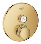 GROHE Grohtherm SmartControl - Concealed Thermostat for 1 outlet cool sunrise