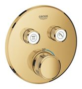 GROHE Grohtherm SmartControl - Concealed Thermostat for 2 outlets cool sunrise