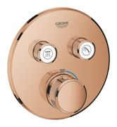 GROHE Grohtherm SmartControl - Concealed Thermostat for 2 outlets warm sunset