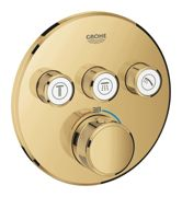 GROHE Grohtherm SmartControl - Concealed Thermostat for 3 outlets cool sunrise