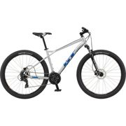 GT Aggressor Expert 29 Hardtail Bike (2021) - Small Silver