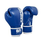 Gymrex Kids Boxing Gloves - 6 oz - blue/white
