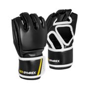 Gymrex MMA Gloves - size S/M - black - without thumbs GR-GGR S/M