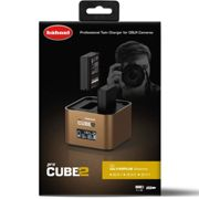 Hahnel ProCube 2 Twin Battery Charger Olympus