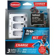 Hahnel Trio-Charger Kit For GoPro Hero4 and 3/3+ and HL-GP401 battery.