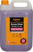 Halfords -10 Ready Mixed Screenwash 5L - Berry