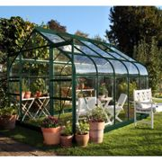 Halls Traditional Supreme 8ft x 10ft Greenhouse (Green)