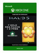Halo 5: Guardians: 7 Gold REQ Packs + 2 Free