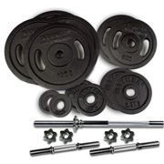 HAMMER 73 kg long and short dumbbell set (Ø 30 mm)