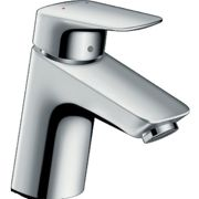 Hansgrohe Logis - Single Lever Basin Mixer 70 with pop-up waste set chrome