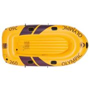 Happy People Inflatable Rowing Boat Olympic 260 3-Person