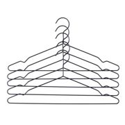 HAY - Coat hang hanger set of 5, black