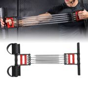 Heavy Duty Muscle Training Exercise Springs Chest Pull Expander Sport