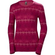 HELLY HANSEN W Hh Merino Mid Graphic Ls Persian - Themal t-shirt - Purple - taille M